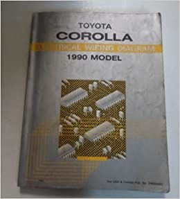 Fine 1990 Toyota Corolla Electrical Wiring Diagram Troubleshooting Manual Wiring Digital Resources Remcakbiperorg