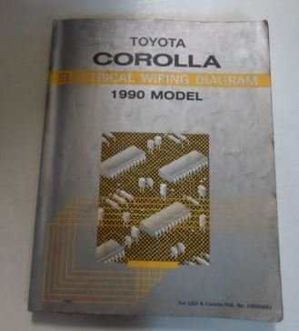 1990 Toyota Corolla Electrical Wiring Diagram Troubleshooting Manual (Toyota Corolla Electrical Wiring)