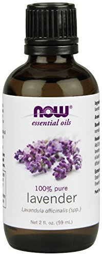 NOW Foods 100% Pure Lavender Essential Oil, 2 ounce