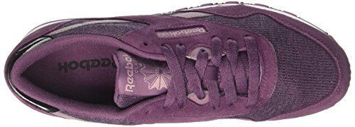 washed white Plum smoky cozy Reebok black Chaussures Violet Orchid Femme De Cl Nylon Running Cnq7CRF8w