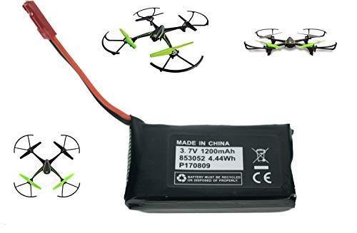 Sky Viper V2400HD V2450FPV V2450GPS Scout Journey Drones Compatible Battery 3.7v 1200mAh High -