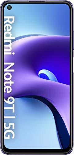 Xiaomi Redmi Note 9T | 128GB 4GB RAM | Android 10 MIUI 12 | 5000 mAh 18W Fast Charging | Octa-core | GSM LTE Factory Unlocked Smartphone | International Model
