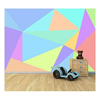 Dazzling Style, Premium Product, Bright Candy Color Collage Large Wall Mural Removable Peel and Stick Wallpaper