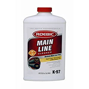 Roebic Laboratories, Inc. K-97 Main Line Cleaner, 32-Ounce