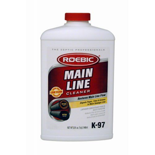 Roebic Laboratories, Inc. K-97 Main Line Cleaner, 32-Ounce by Roebic Laboratories