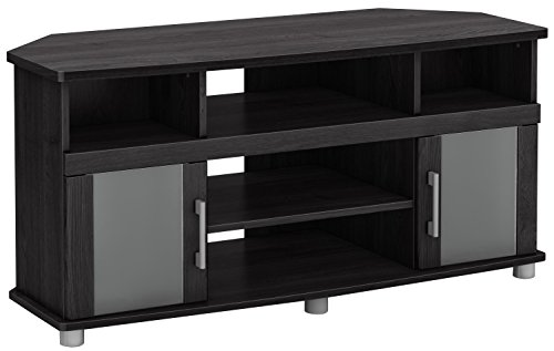 Collection 50' Tv Stand (City Life Corner TV Stand - Fits TVs Up to 50'' Wide - Gray Oak - by South Shore)