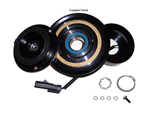 AC Compressor COMPLETE CLUTCH Fits; Dodge Ram & Dakota 2004-2007 3.7 & 4.7 Liter A/C