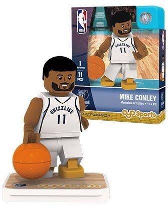 OYO Sports NBA Minifigure Memphis Grizzlies Mike (Nba Memphis Grizzlies Block)