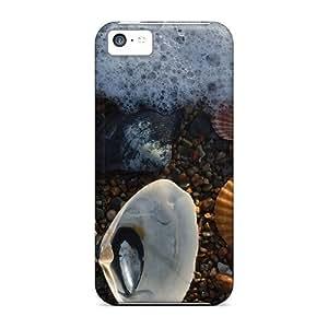 Faddish Phone Sea Scallops Case For Iphone 5c / Perfect Case Cover
