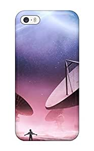VovuocQ3097VWJgZ Satellites And Sky Light Awesome High Quality Iphone 5/5s Case Skin