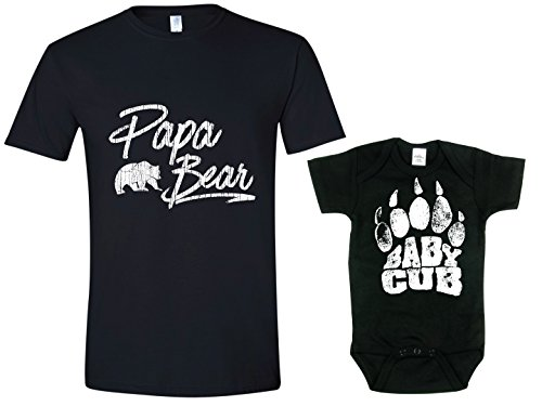 Funny Shirts for Dad, Papa Bear Tshirt, Matching Shirts, Many Designs to Choose