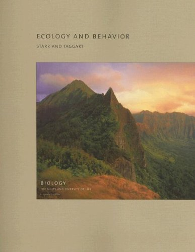Ecology and Behavior (Biology: The Unity and Diversity of Life)