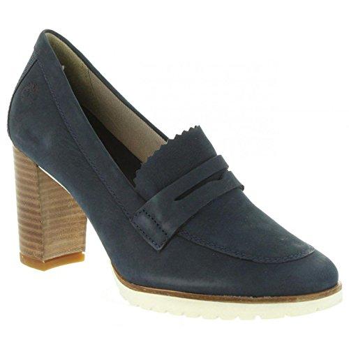 A1pj3 Dark Blue Tacón Mujer De Leslie 41 Zapatos Talla Timberland qwY08ZpZx