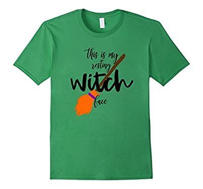 This Is My Resting Witch Face Funny Halloween T-shirt