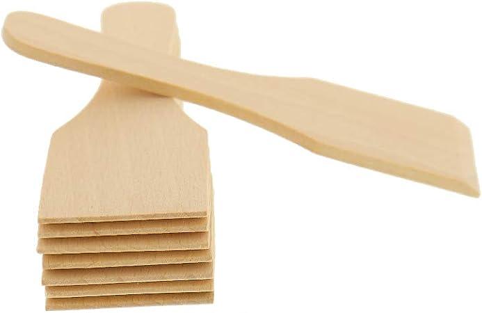 hitzebest/ändiges /& stabiles Raclette Zubeh/ör Buche schont beschichtete Raclette-Pf/ännchen kein Plastik im Essen 1 gro/ßer Raclette-Spachtel aus Europa Raclette-Schaber aus Holz keine Kratzer mehr im Raclette-Pf/ännchen 17 cm