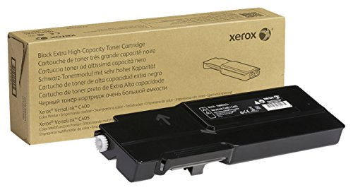 Genuine Xerox Black Extra High Capacity Toner Cartridge, 106R03524 - 10,500 pages for use in VersaLink C400/C405