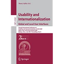 Usability and Internationalization. Global and Local User Interfaces: Second International Conference on Usability and Internationalization, UI-HCII ... Part II (Lecture Notes in Computer Science)