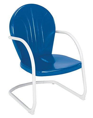 Jack Post BH-20BL Retro Chair, Blue