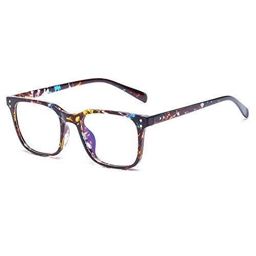 protección antiamarillas rectangulares C6 protección mujeres gafas de gafas de hombres Hzjundasi y Gafas para Gafas 6nwz00