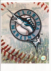 - Florida Marlins Logo Unsigned 8x10 Photo
