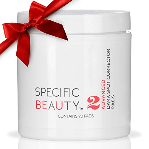 Specific Beauty - Advanced Dark Spot Correcting Pads - Resurfacing Antioxidant Brightening Treatment Infused with Botanical Extracts - 90 Day Supply/90 Pad Count (Full Size- 90 Count)
