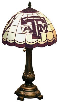 Texas A&m Tiffany Table Lamp - 5