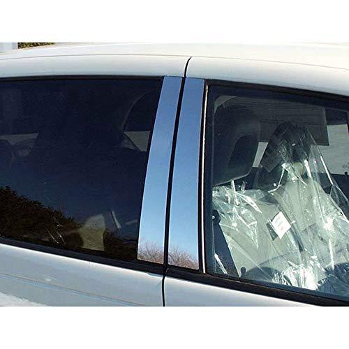 Brighter Design 4pc. Chrome Pillar Post Trim fit for 2003-2010 Chrysler PT Cruiser ()
