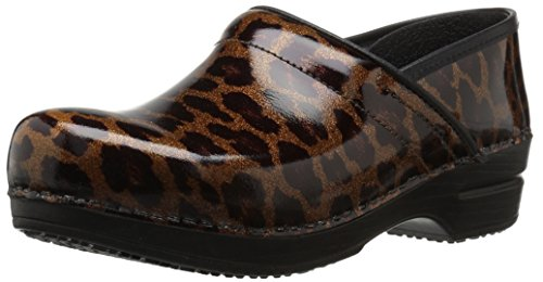 Sanita Women's Smart Step Sylvia Work Shoe, Dark Brown, 39 EU/8/8.5 M US