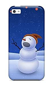 Cute Appearance Cover/tpu BsywOQx205cYpmI Cool Xmas Song Case For Iphone 5c Kimberly Kurzendoerfer