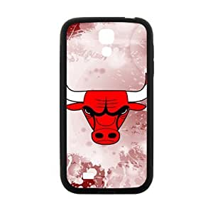 Bulls logo Phone Case for Samsung Galaxy S4 Case