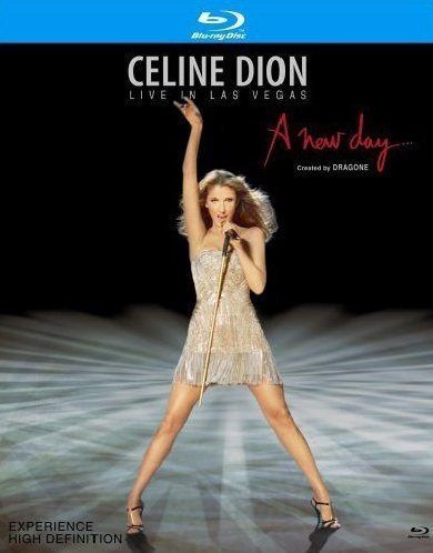 Celine Dion: Live in Las Vegas - A New Day [Blu-ray] by - Celine Store Nyc