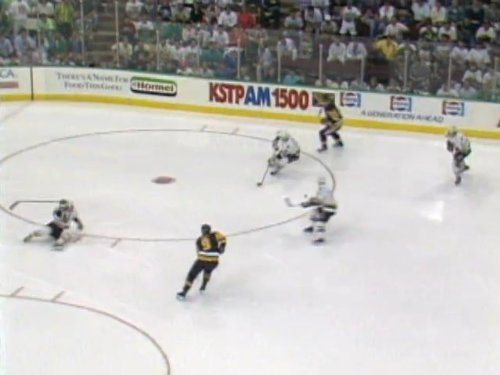 May 25, 1991: Pittsburgh Penguins vs. Minnesota North Stars - Stanley Cup Final Game - Stanley Cup 1991