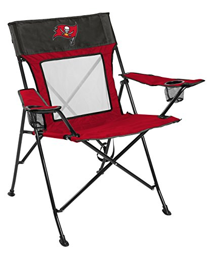 Rawlings NFL Game Changer Large Folding Tailgating and Camping Chair, with Carrying Case, Tampa Bay Buccaneers