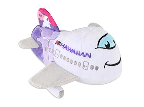 Daron Hawaiian Airlines Plush Plane with Sound