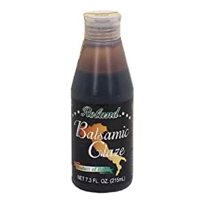 Roland Balsamic Glaze From Italy, 7.3-Ounce Bottle (Pack of 3)