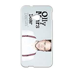 HTC One M7 Cell Phone Case White Olly Murs GJV Clear Cell Phone Cases