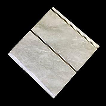 Grau Marmor Chrom Streifen Badezimmer PVC Wandverkleidung ...