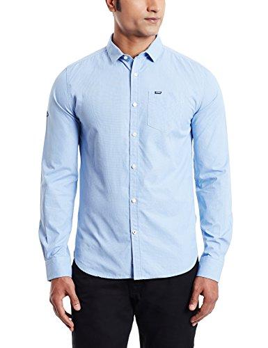 Superdry Herren Freizeit-Hemd blau blau XL