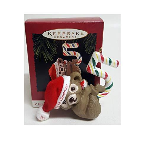 Hallmark Keepsake Child's Fifth Christmas Ornament ()