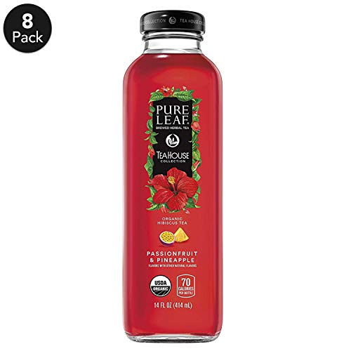 (Pure Leaf THC Herbals Iced Tea, Hibiscus Passion Fruit/Pineapple, 8 Count)