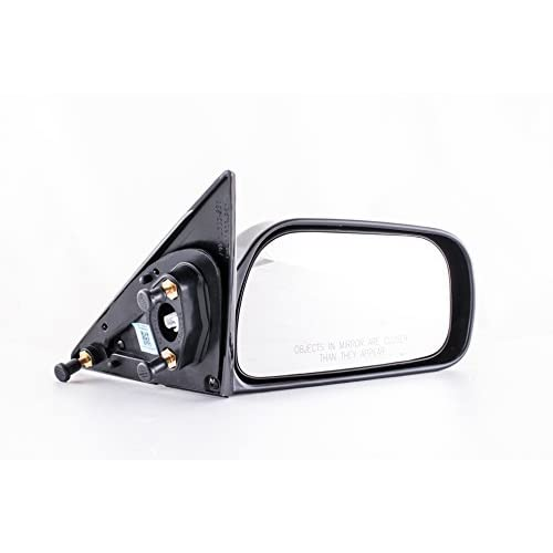Driver Side Textured Side View Mirror for 1999-2004 Jeep Grand Cherokee Dependable Direct