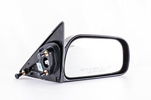 (Passenger Side Mirror for Toyota Camry (Japan Version Without Wire) - Unpainted Non-Heated Non-Folding Right Outside Rear View Door Mirror (1997 1998 1999 2000 2001) - Parts Link #: TO1321132)
