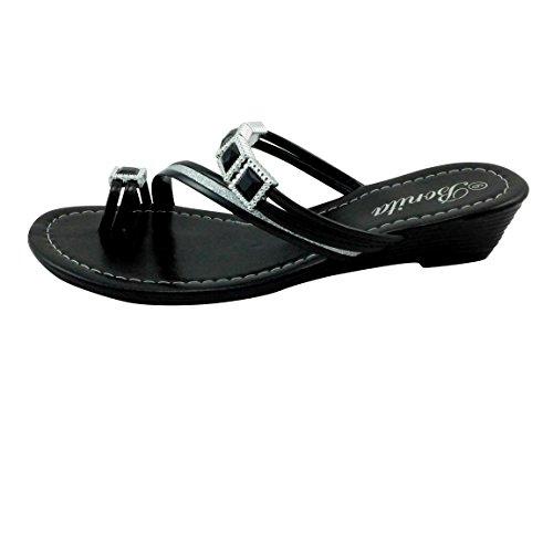 Bonita Womens Wedge Sandals Gladiator Shoes BABY-06