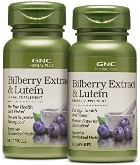 GNC Herbal Bilberry Extract Lutein product image