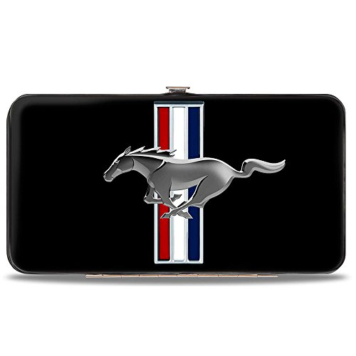 Price comparison product image Buckle-Down Hinge Wallet - Mustang