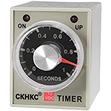 uxcell 8 Terminals Range Adjustable Delay Timer Time Relay AH3-3
