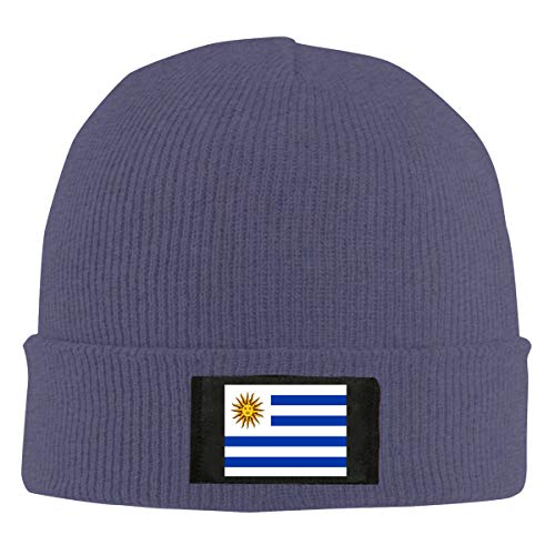ChunLei Flag Uruguay Unisex Warm Winter Wool Hat Knit Beanie Skull Cap