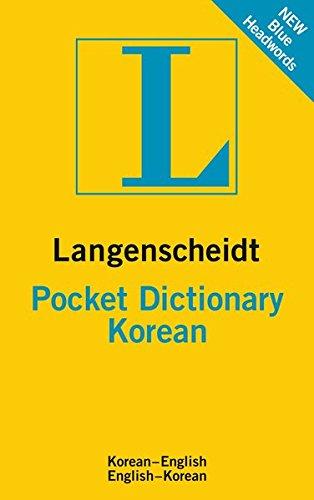 Langenscheidt Pocket Dictionary Korean: Koreanisch-Englisch/Englisch-Koreanisch (Langenscheidt Pocket Dictionaries)