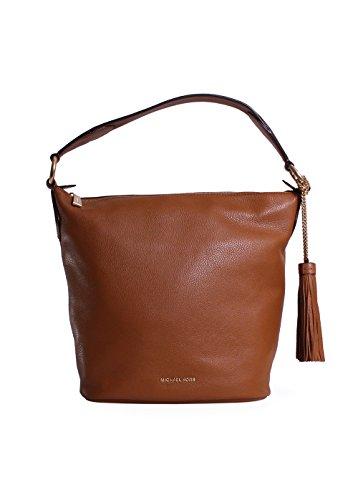 Signature Bucket Over Bag - Michael Kors Elana Large Convertible Shoulder Bag Acorn $378