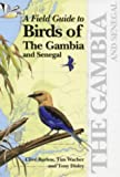 Front cover for the book Field Guide to Birds of Gambia by Clive Barlow
